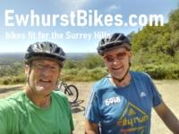 Ewhurst Bikes in Surrey Logo